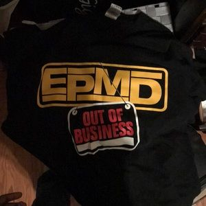 EPMD Out of Business promo shirt